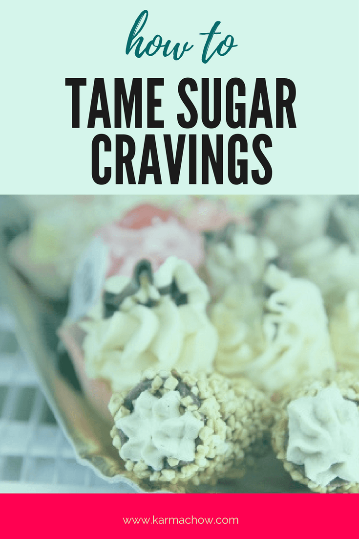 Sugar can rule our lives, learn how to tame your cravings with my seven simple steps