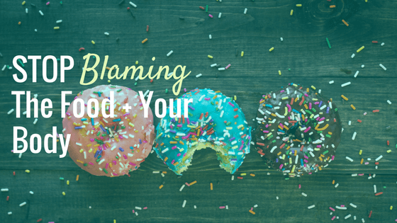 Stop Blaming the Food