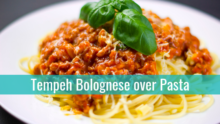 Tempeh Bolognese Recipe