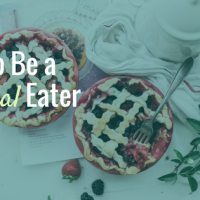 VLOG: How to be a Normal Eater with these Top 3 Strategies