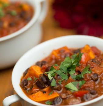 Chocomole' Black Bean Chili