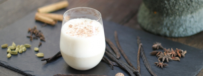 Spiced Almond Milk
