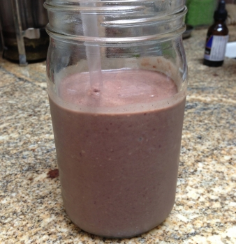 Acai Chocolate Power Smoothie