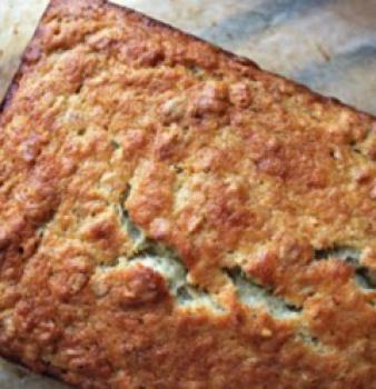 Banana Chia Oat Bread – Gluten Free & Vegan