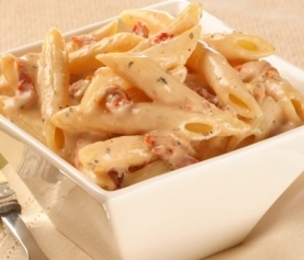 Gluten Free Pasta with Sundried Tomato Cream Sauce