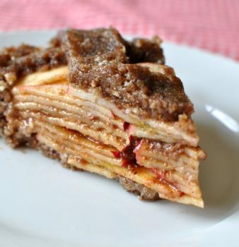 Karmic Raw Apple Pie
