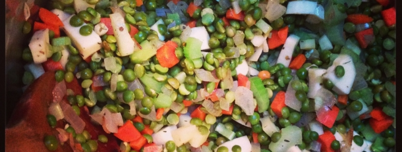 Split Pea & Parsnip Soup