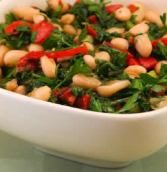 White Bean & Zucchini Salad